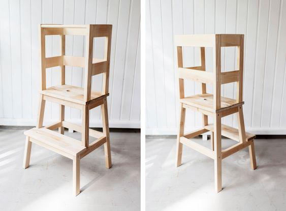 DIY learning tower - hjälpa till pall