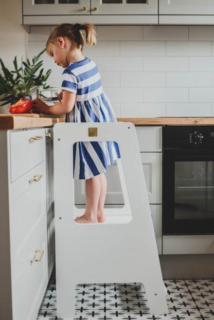 Kökspall med reglerbar höjd